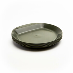 Wildo Camper Plate Flat - Unicolor 6x olive